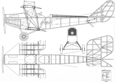 Curtiss-Jenny-bauplan