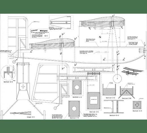 motopou bauplan und cnc muster rippen ar flugmodelle. Black Bedroom Furniture Sets. Home Design Ideas