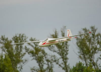 Mucha Standard Landeanflug